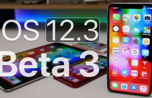 iOS 12.3 public beta 3 instalare
