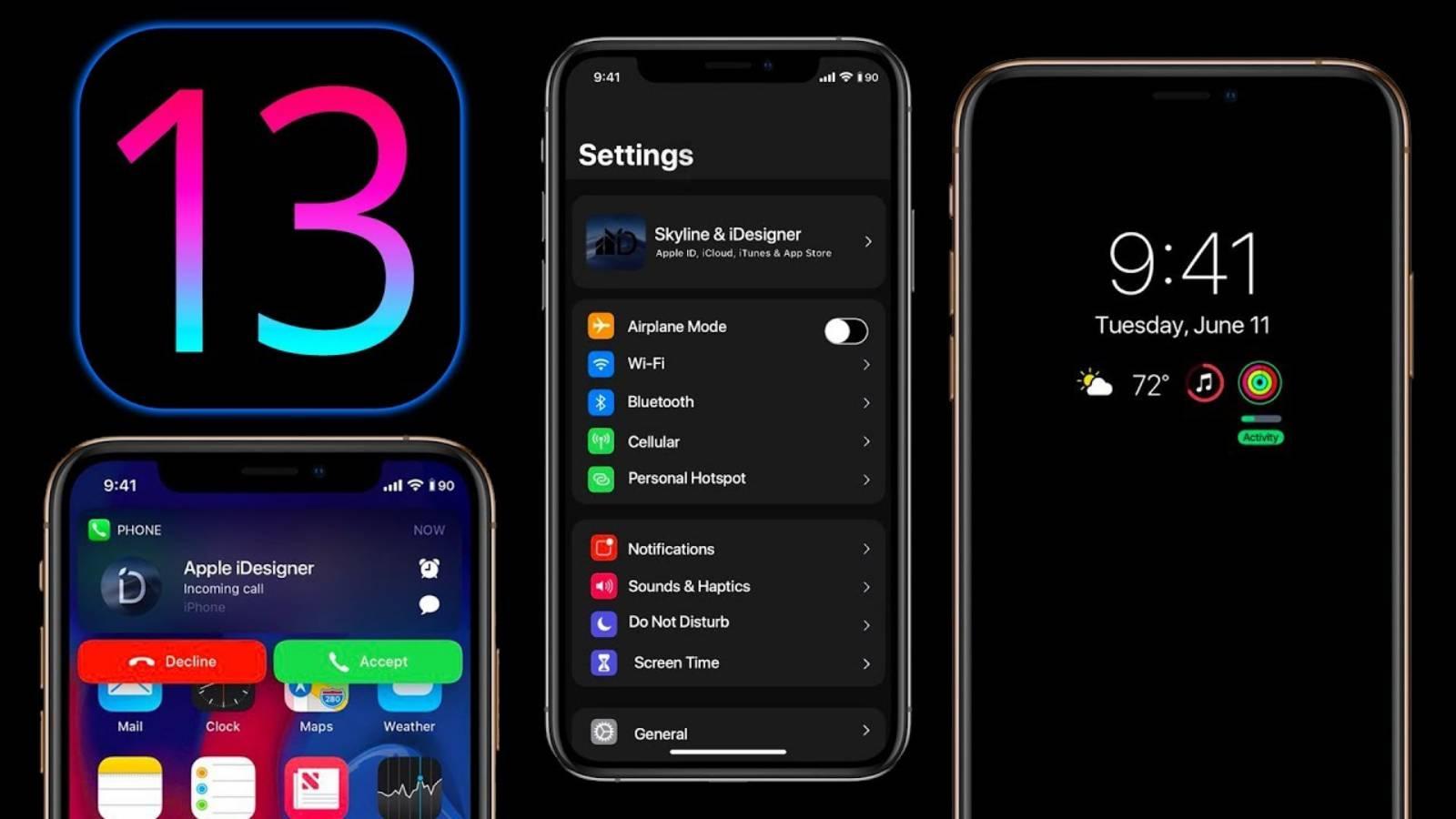 iOS 13 noutati idevice