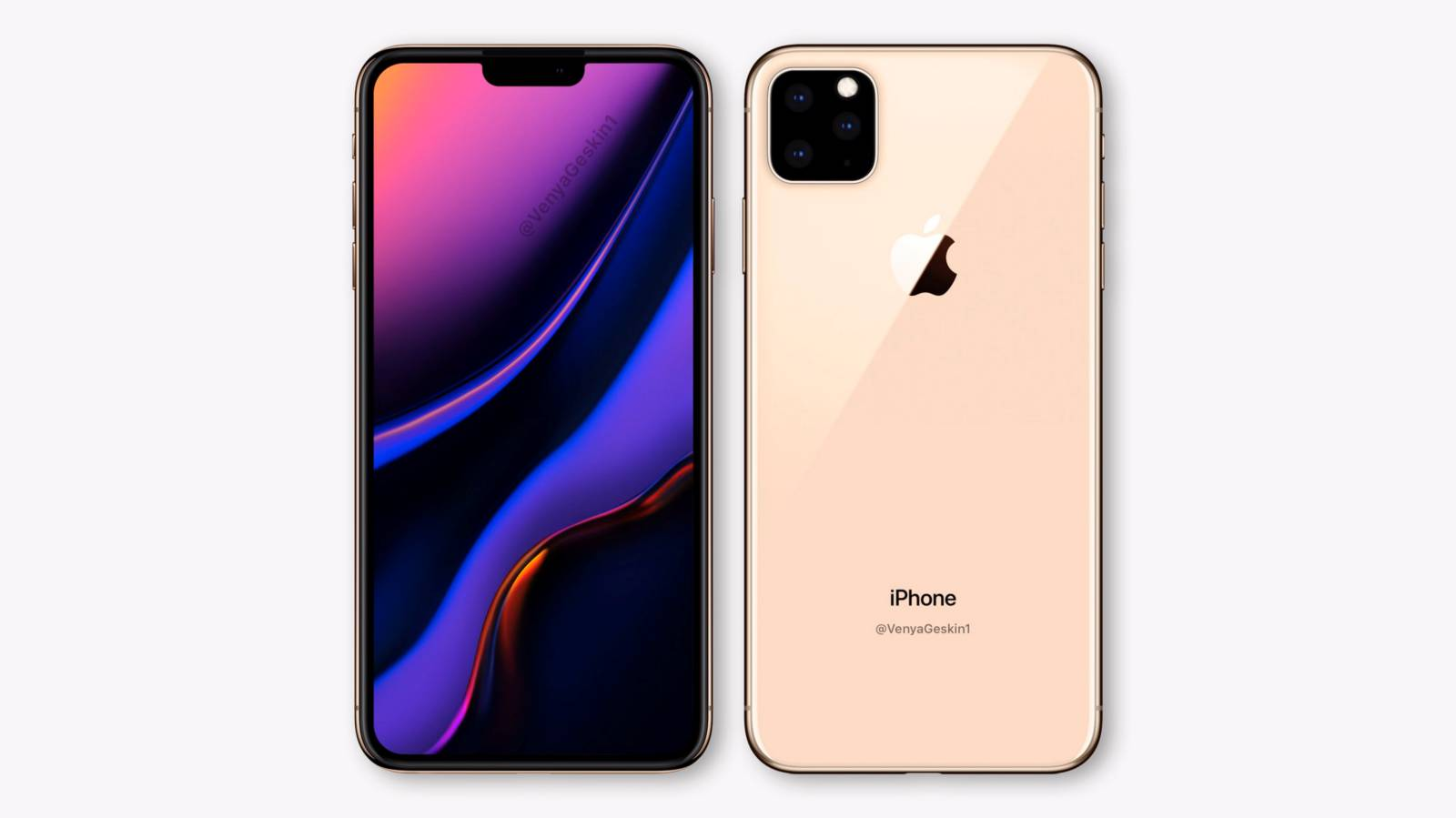 iPhone 11 ecran camera tripla design