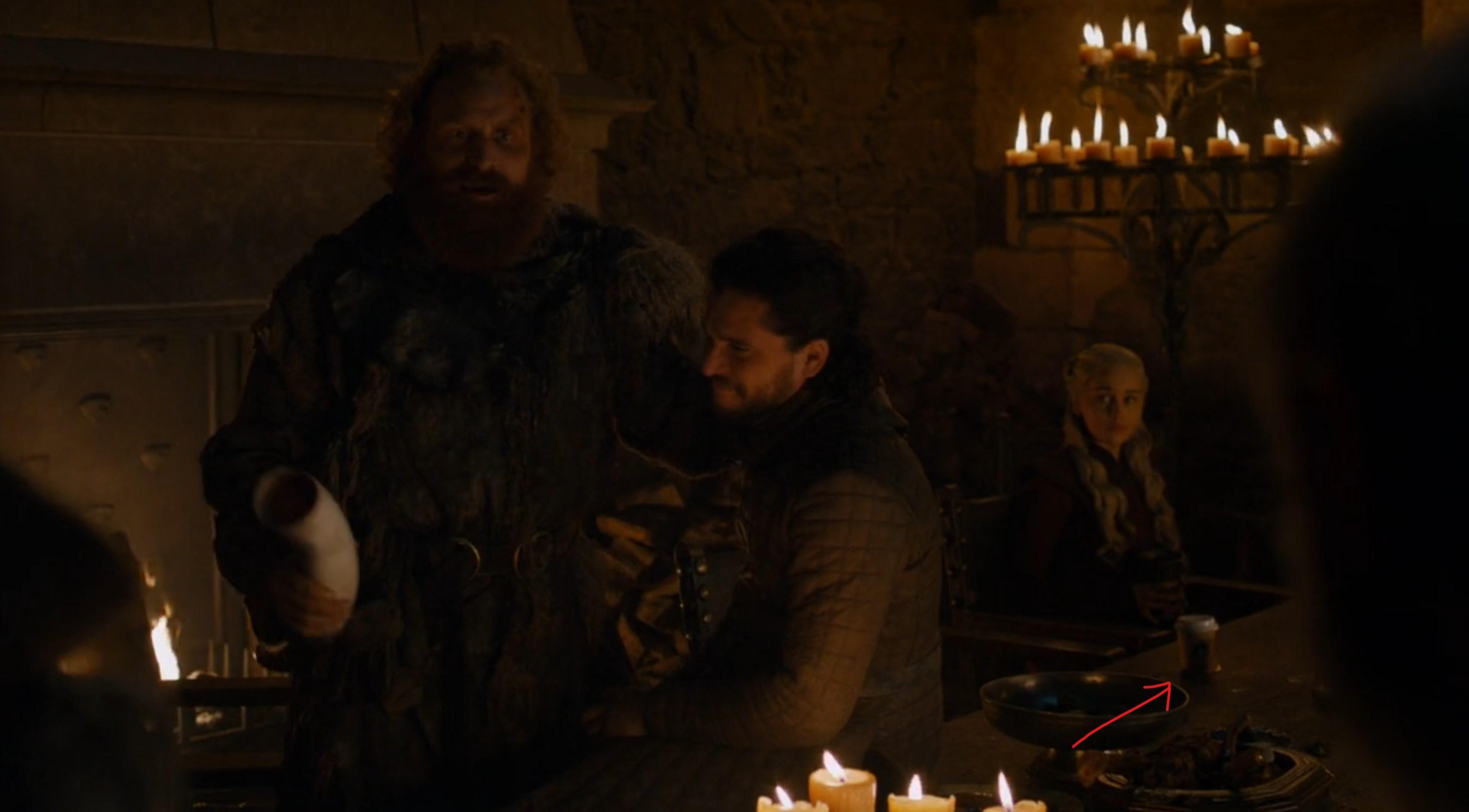 Game of Thrones greseala hbo pahar