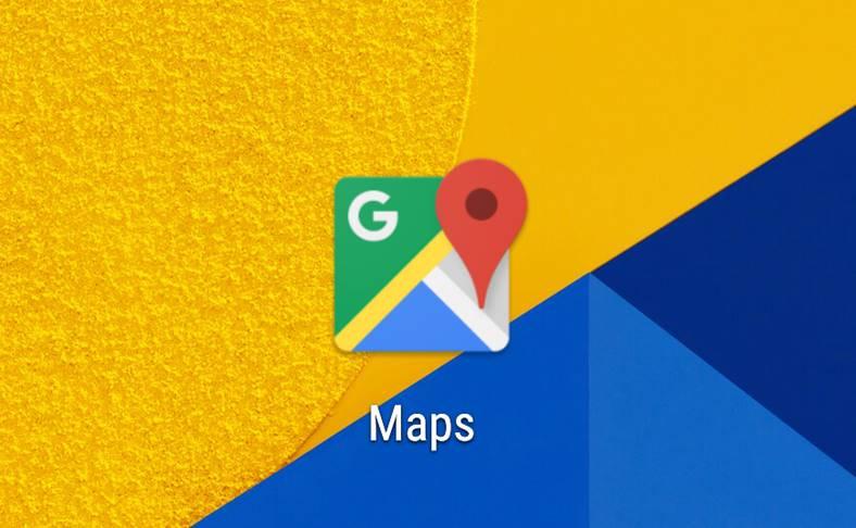 Google Maps mancare