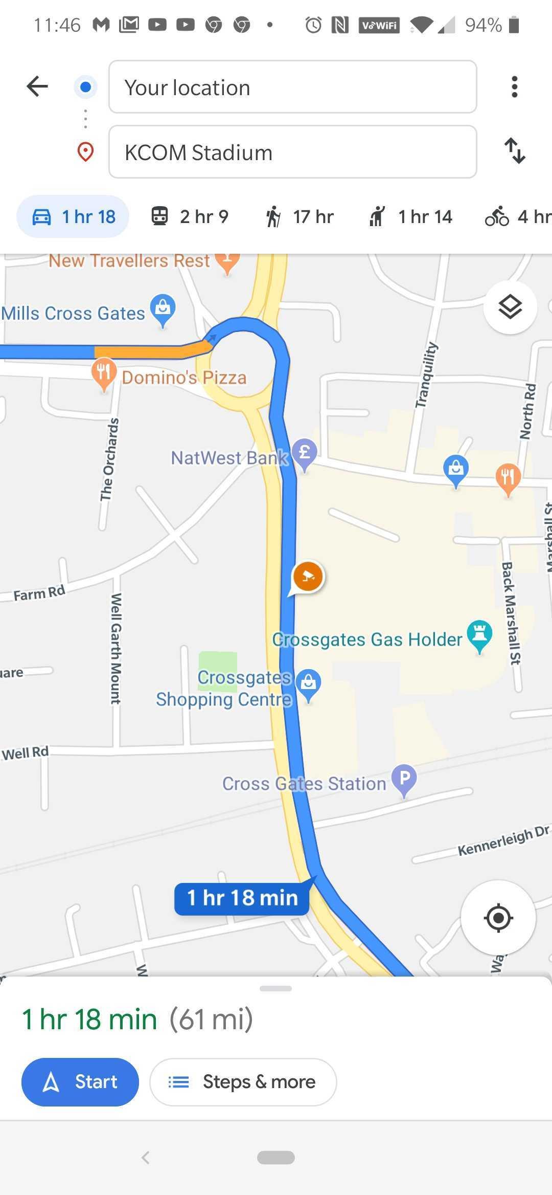 Google Maps politie radar