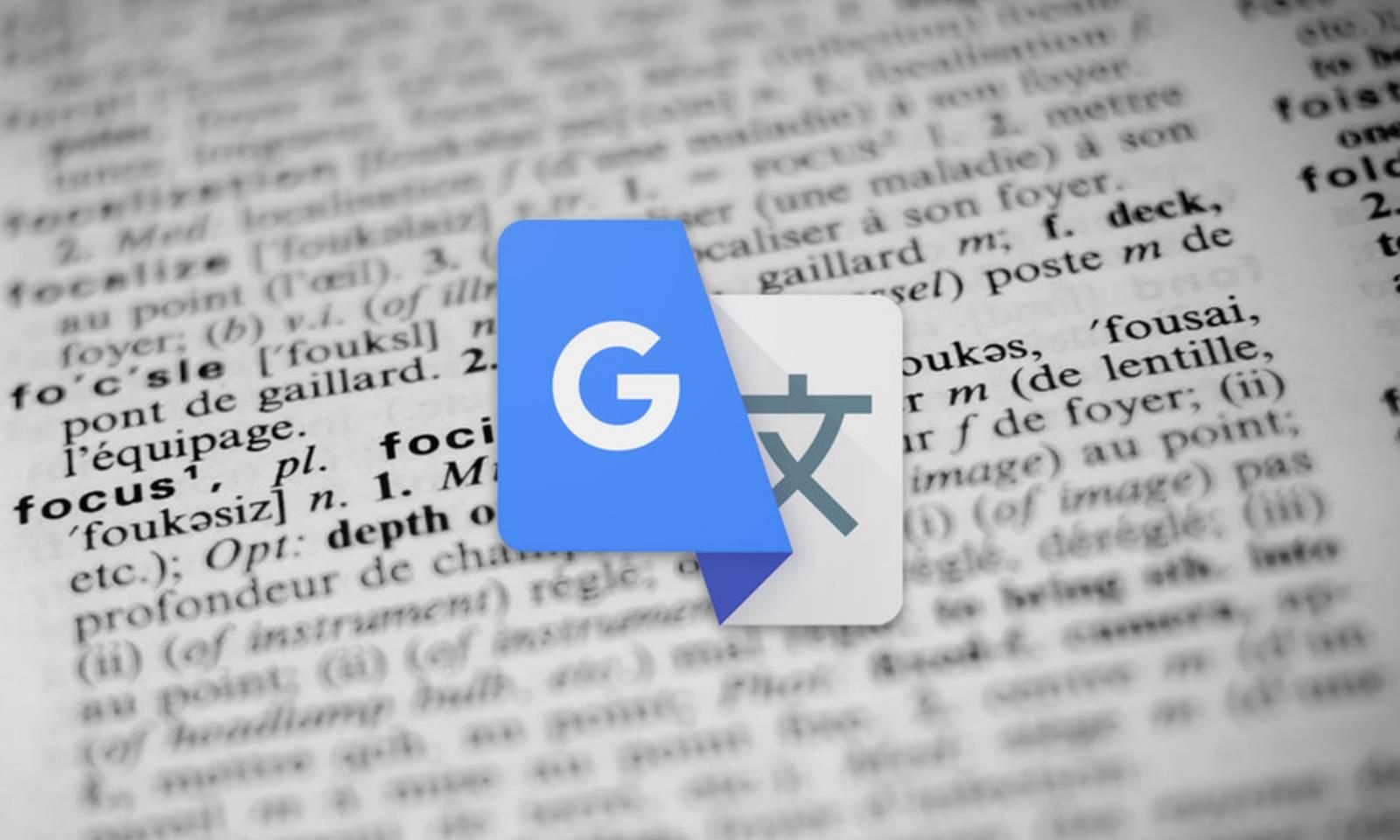 Google Translate limba