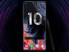 Samsung GALAXY NOTE 10 ecran aspect