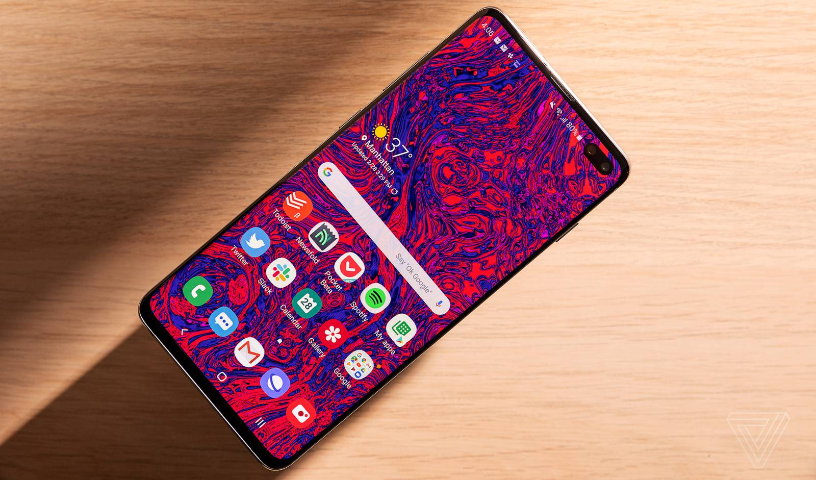 Samsung GALAXY S10 update