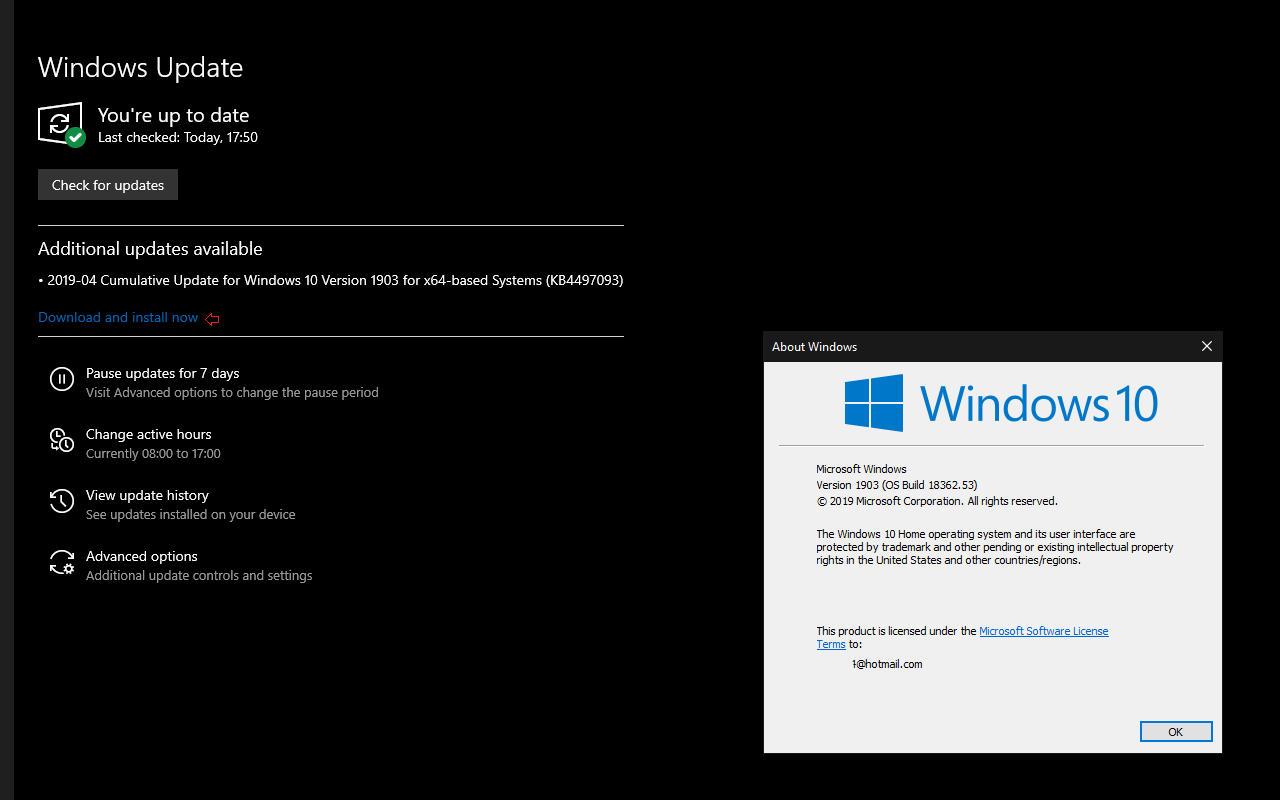 Windows 10 download install actualizari