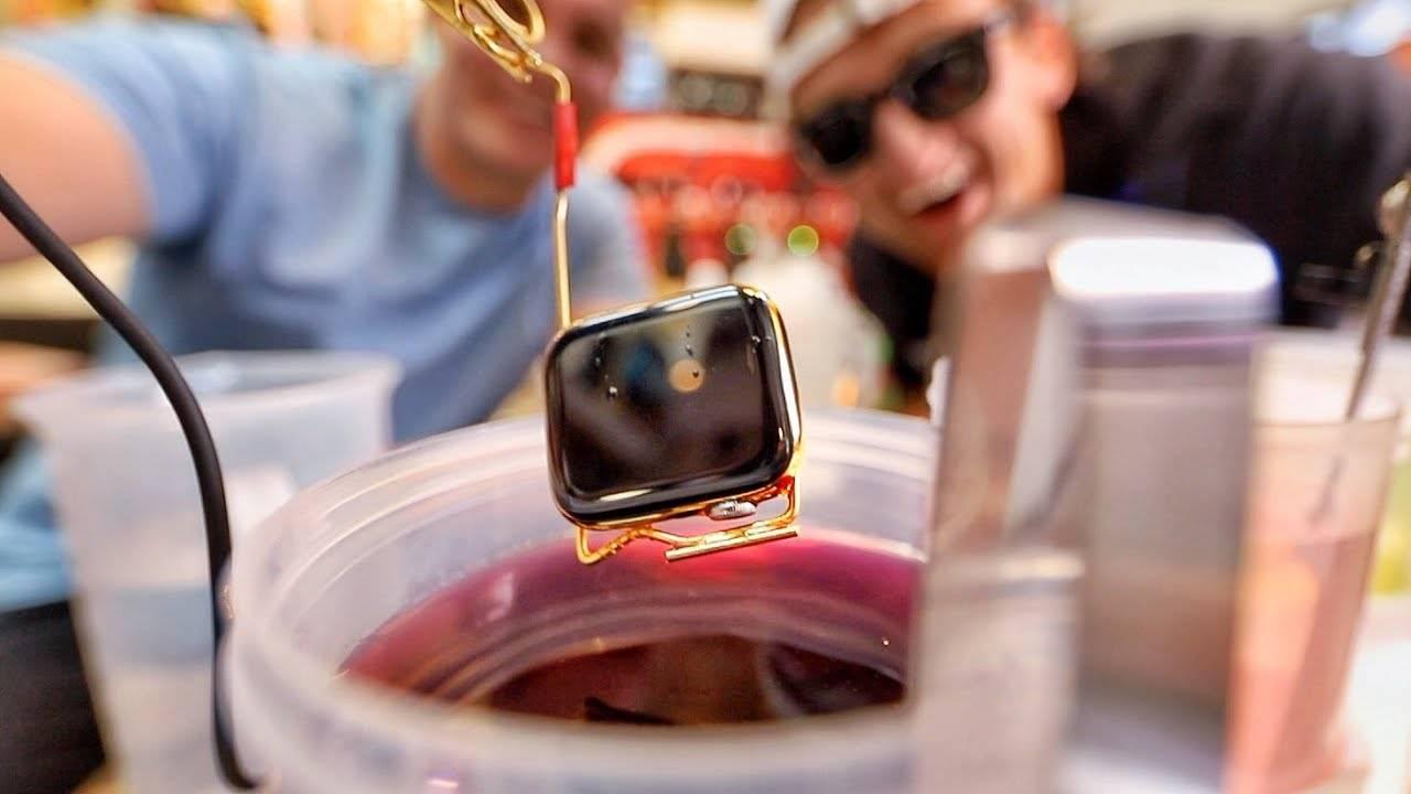 apple watch placat aur