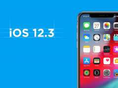 iOS 12.3 autonomie baterie iphone