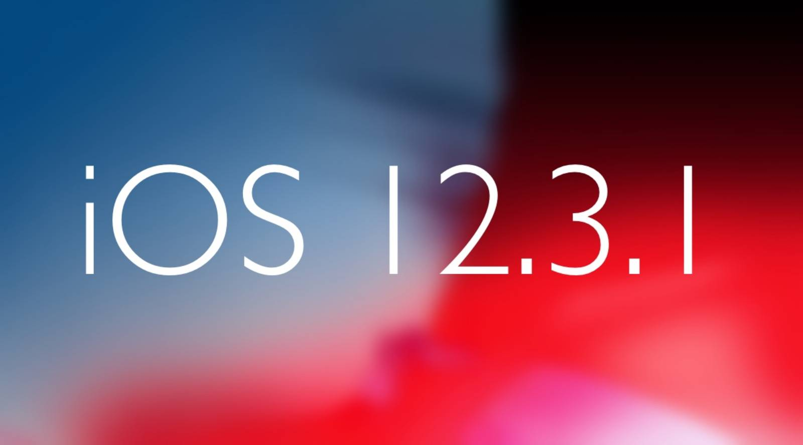 iOS 12.3.1 autonomie baterie