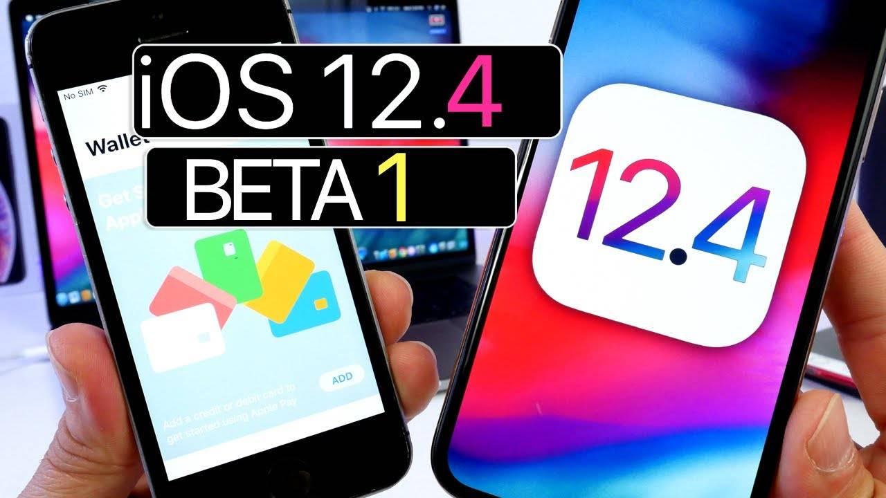 iOS 12.4 beta 1 noutati