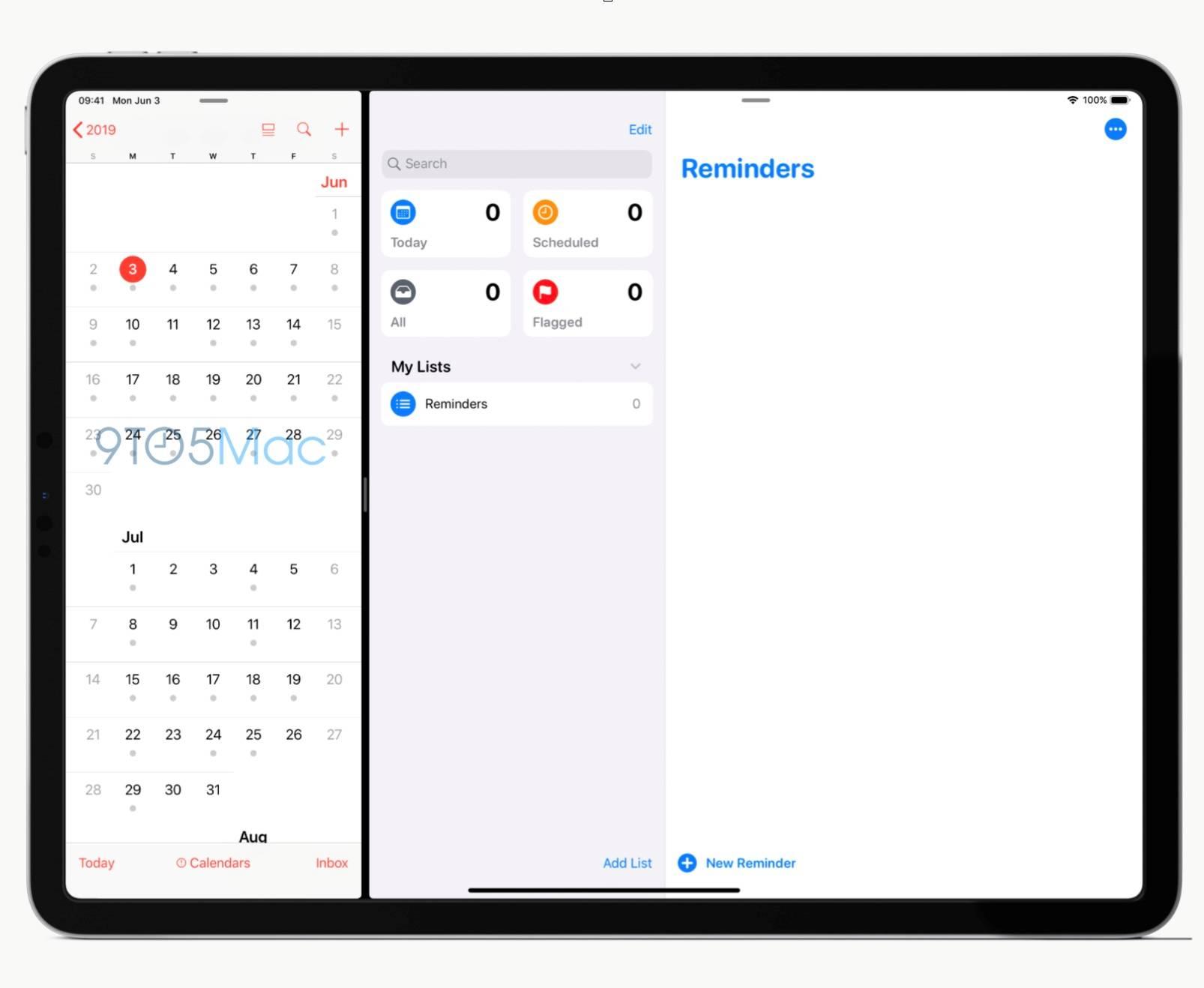 iOS 13 imagini reminders