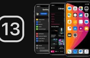iOS 13 noutati dark mode