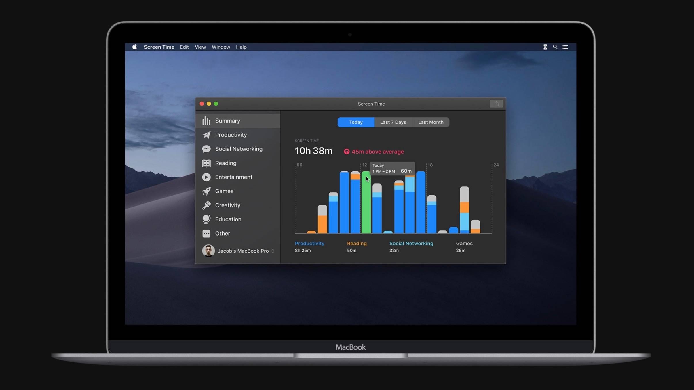 macOS 10.15 imagini aplicatii