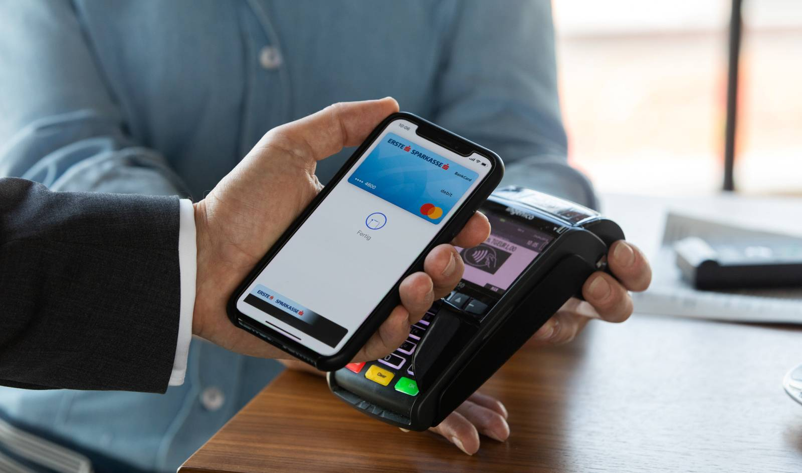 Apple Pay Romania pos