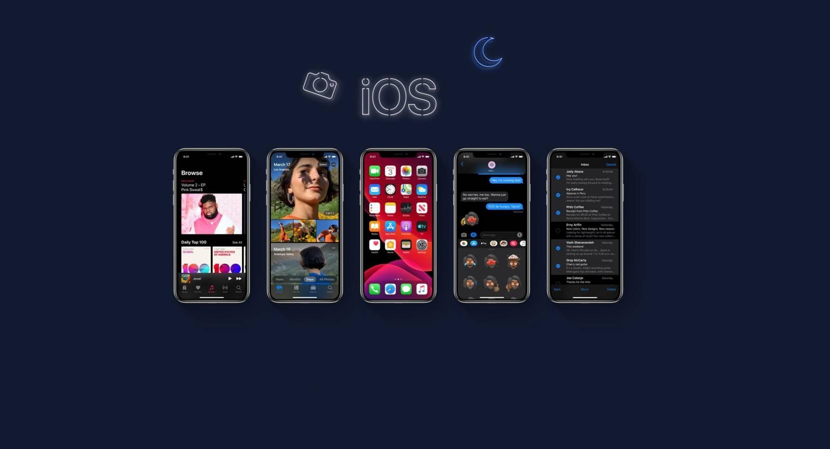 Compatibilitate iOS 13 iPhone