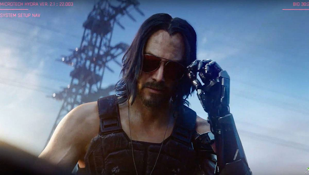 Cyberpunk 2077 anuntat Keanu Reeves