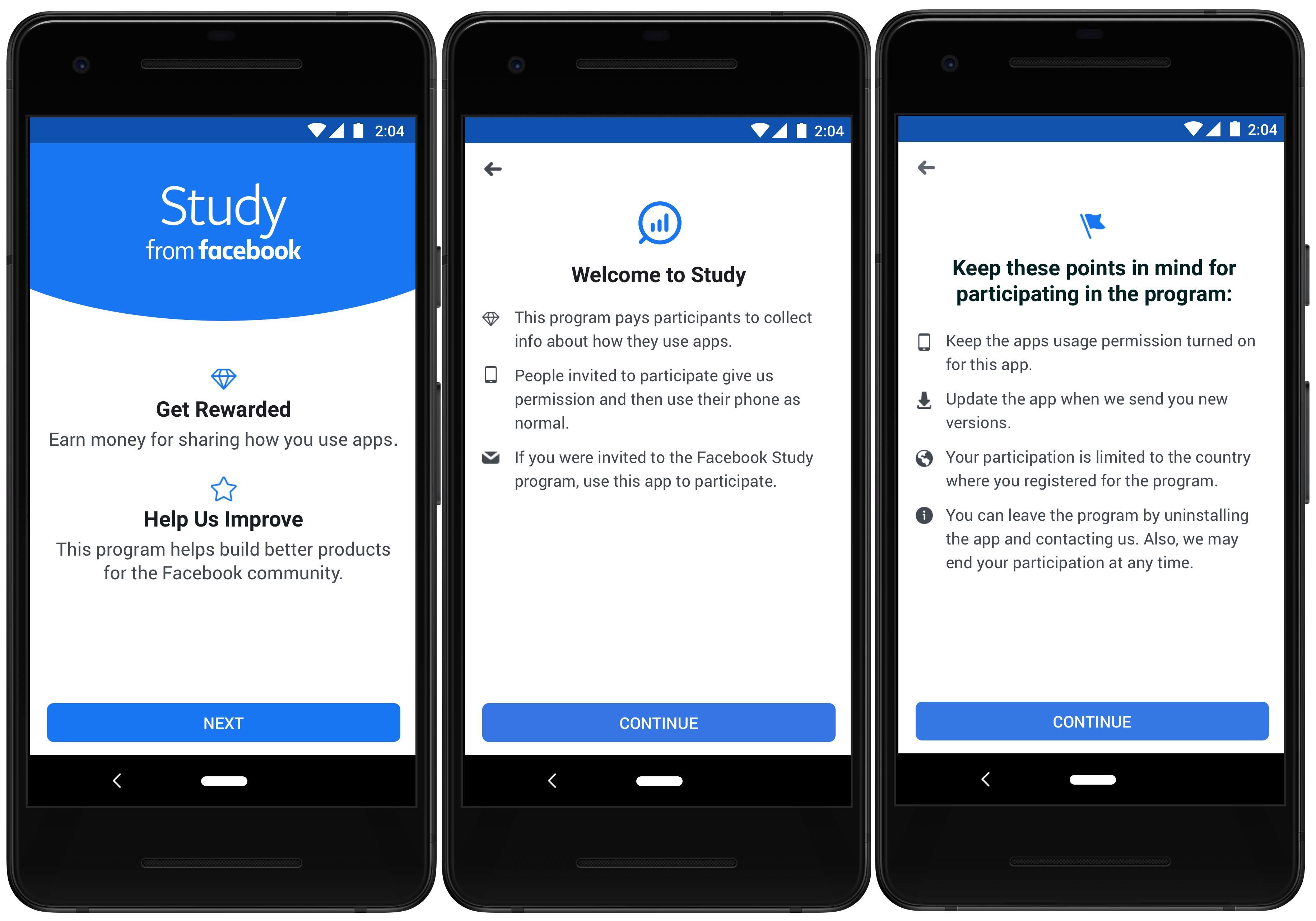 Facebook plati study
