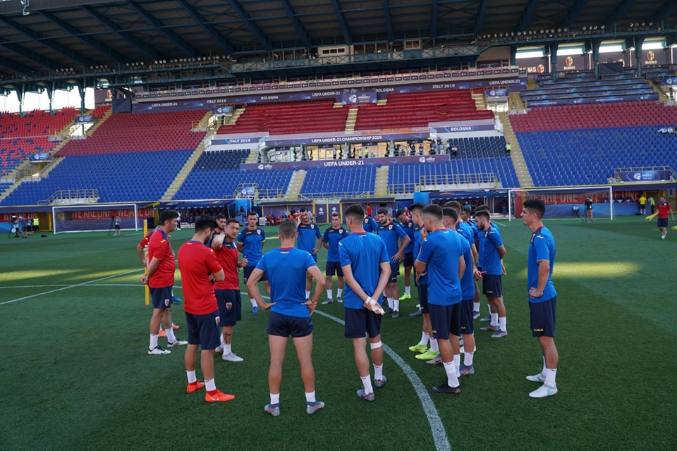 GERMANIA - ROMANIA LIVE TVR SEMIFINALA EURO 2019 U21 antrenament