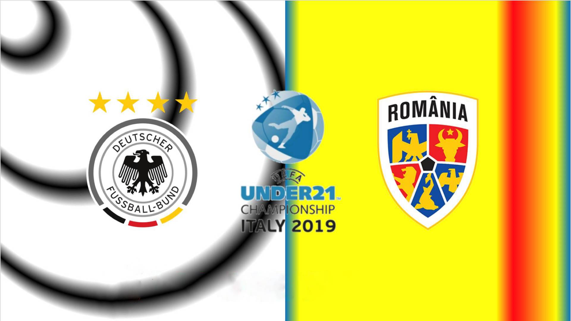 GERMANIA - ROMANIA LIVE TVR SEMIFINALA EURO 2019 U21