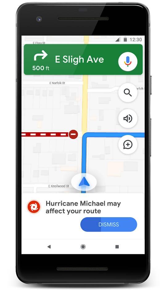 Google Maps alerta viteza