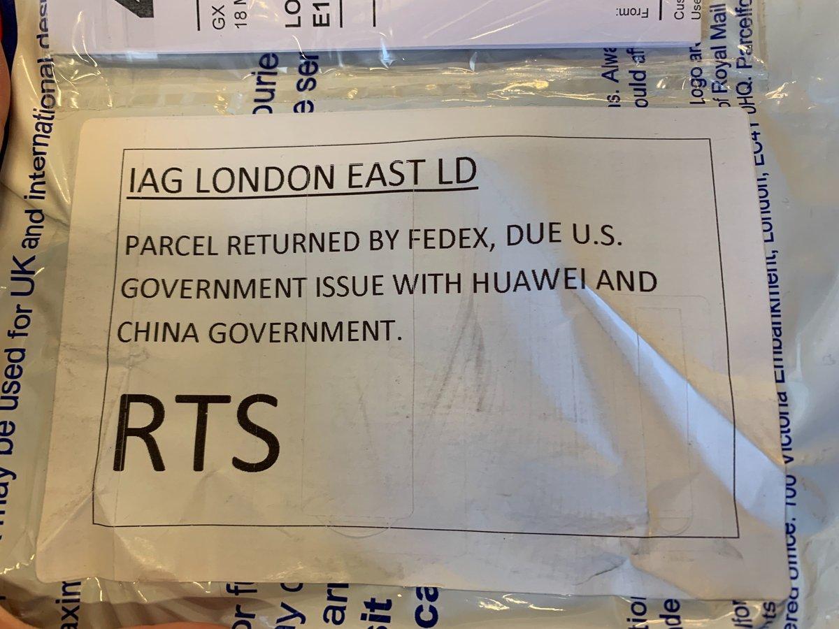 Huawei P30 PRO fedex scandal