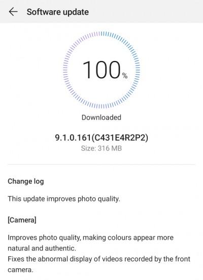 Huawei P30 Pro update camera imbunatatiri