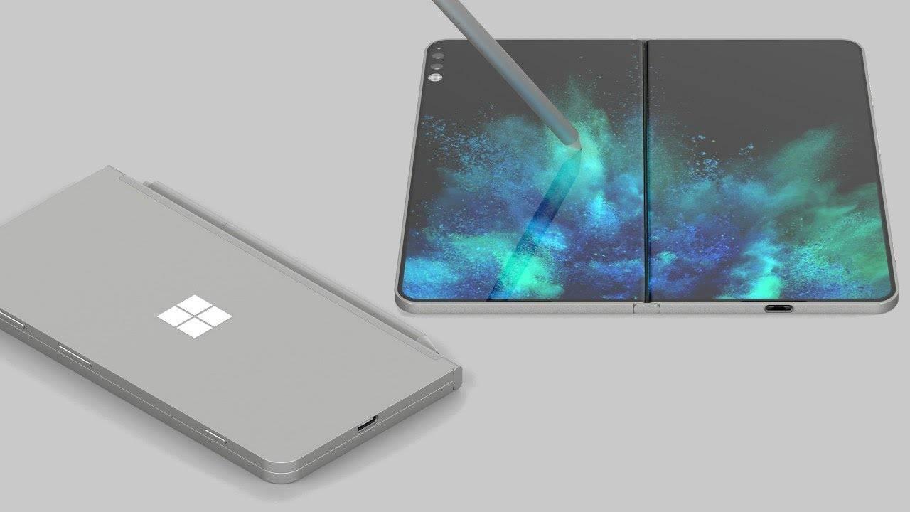 Microsoft Surface pliabila