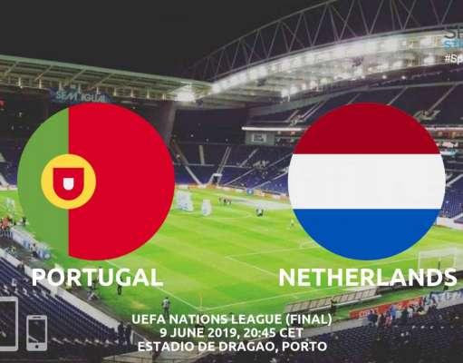 PORTUGALIA - OLANDA LIVE FINALA NATIONS LEAGUE