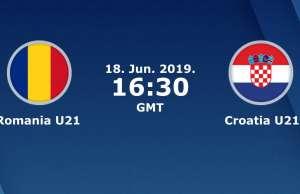 ROMANIA - CROATIA LIVE TVR 1 EURO 2019 U21