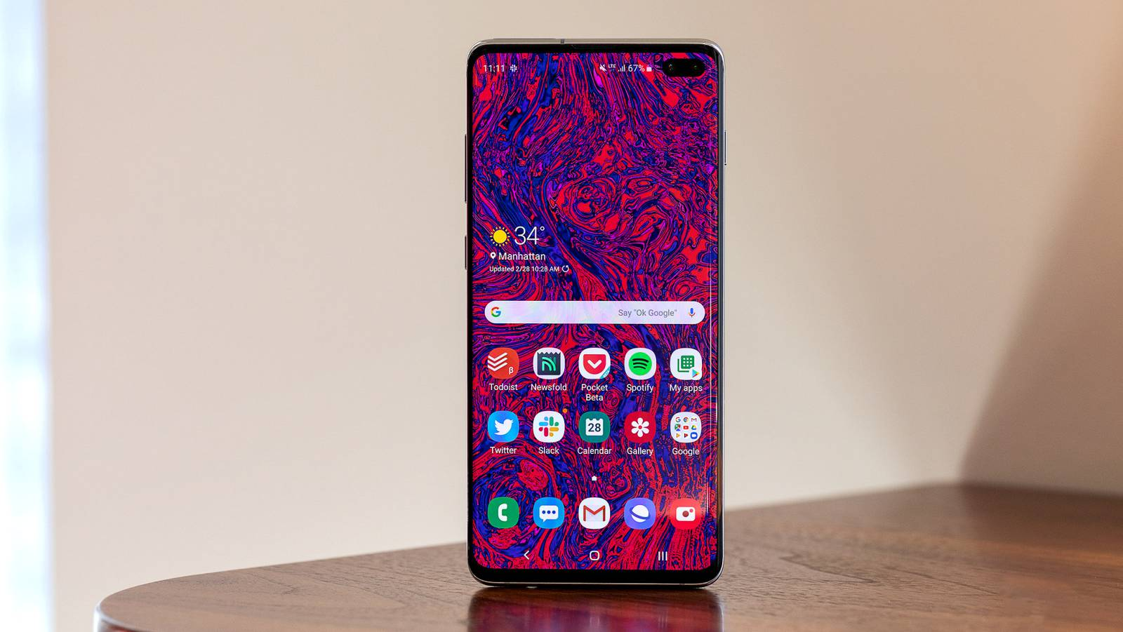 Samsung GALAXY S10 patch