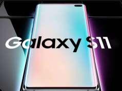 Samsung GALAXY S11 ecran 3d
