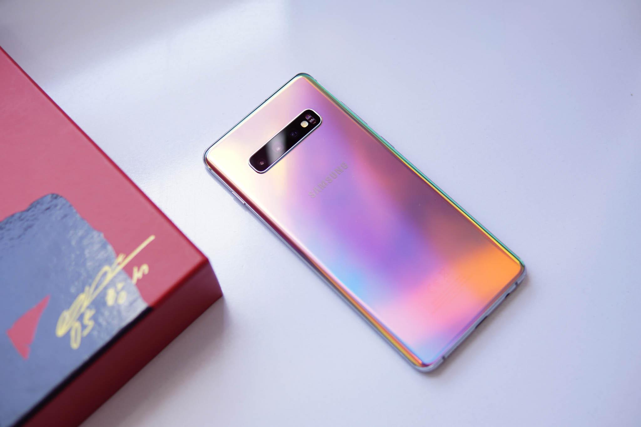 Samsung Galaxy S10 culoare prism silver imagini