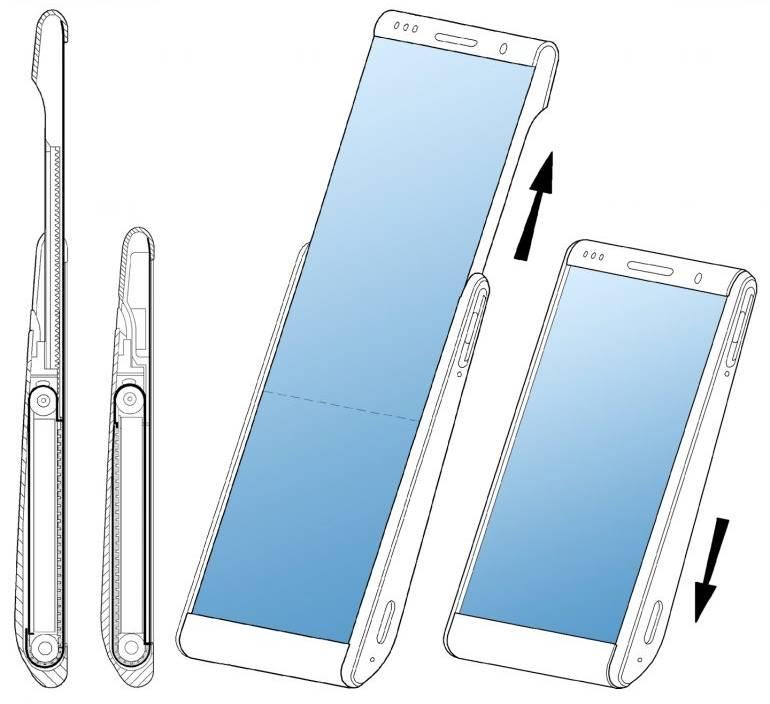 Samsung ecran rulabil inovatie