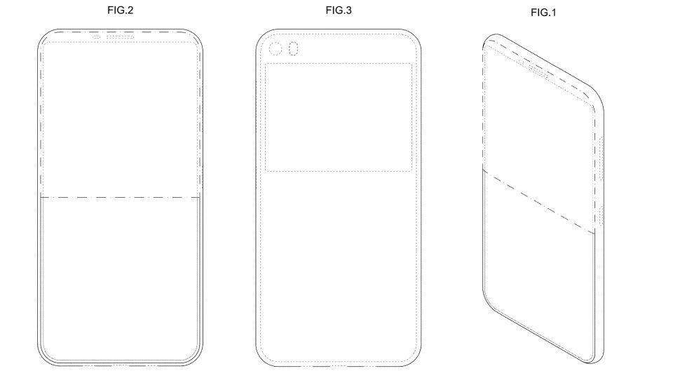Samsung telefon doua ecrane brevetat
