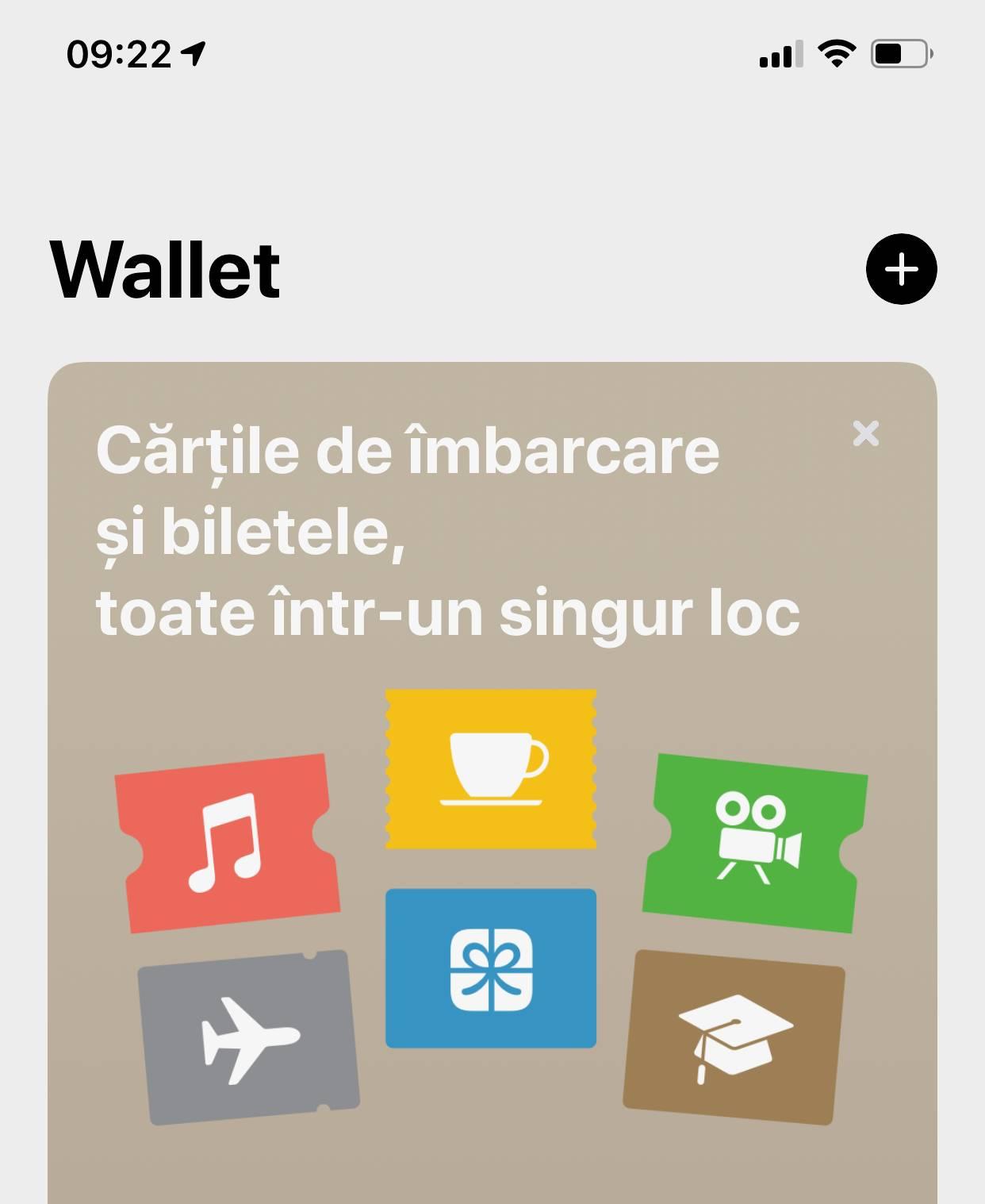 adaugi card apple pay iphone ipad wallet