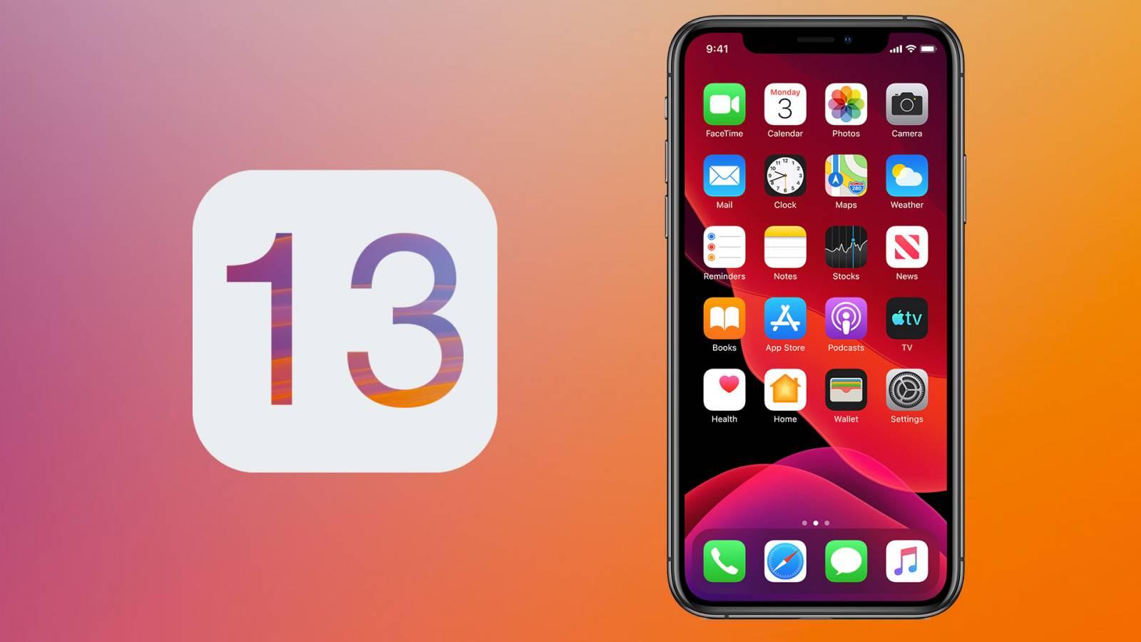 iOS 13 Public Beta lansare