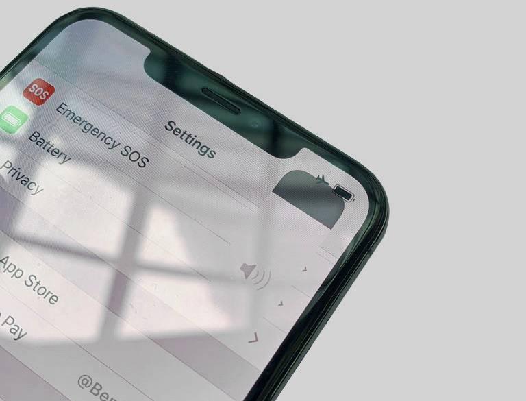 iOS 13 indicator volum
