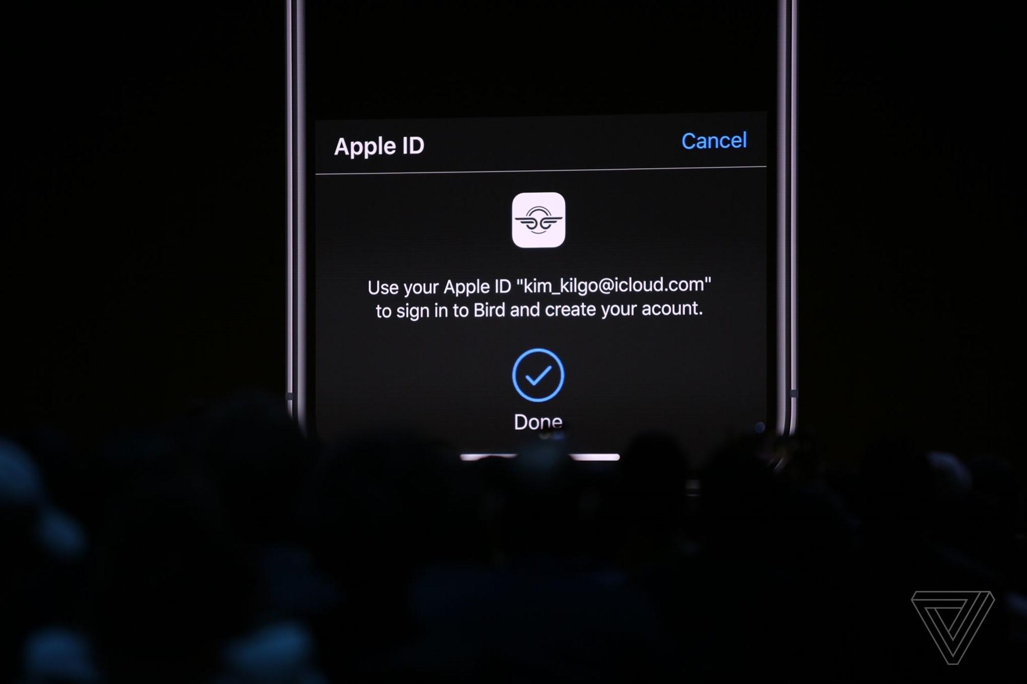 iOS 13 securitate logare