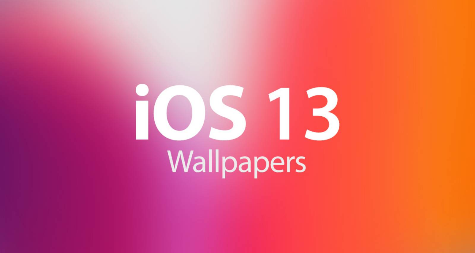 iOS 13 wallpaper download