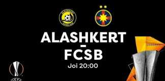 ALASHKERT - FCSB LIVE PRO TV TURUL 2 EUROPA LEAGUE 2019