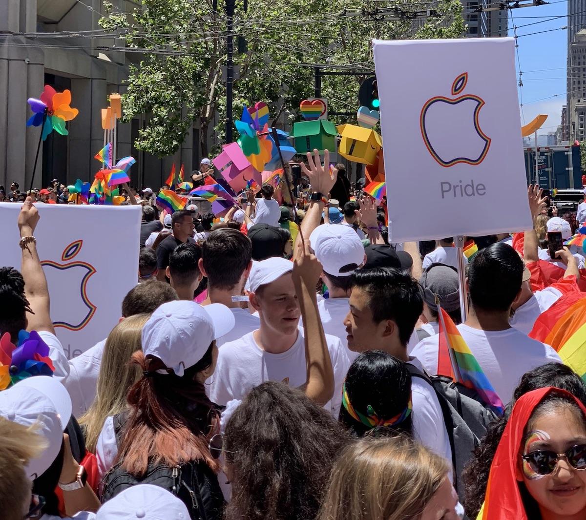 Apple gay parade 2019 mars