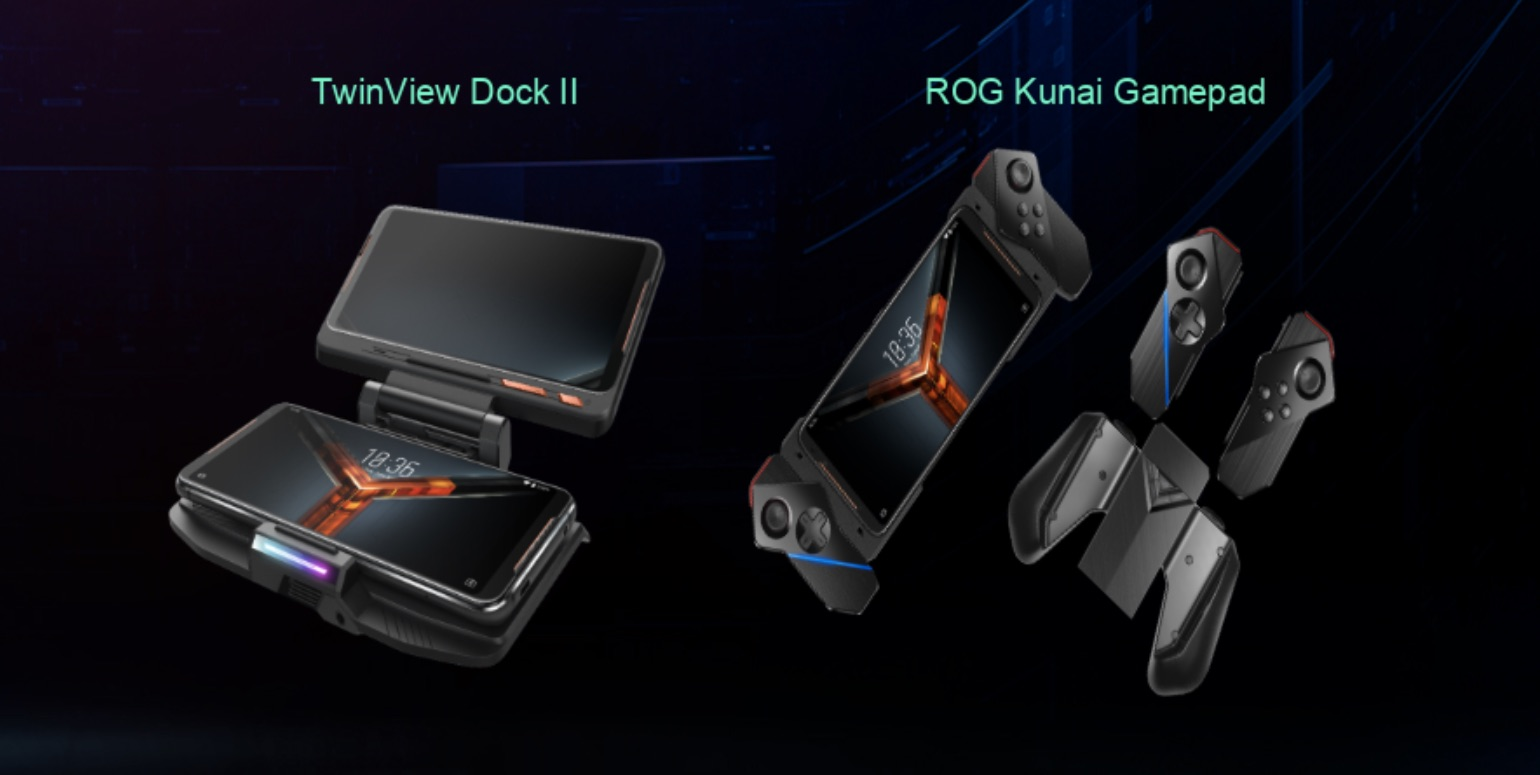 Asus ROG Phone II gamepad