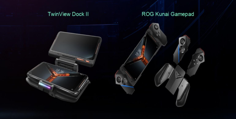 Asus ROG Phone II gamepad