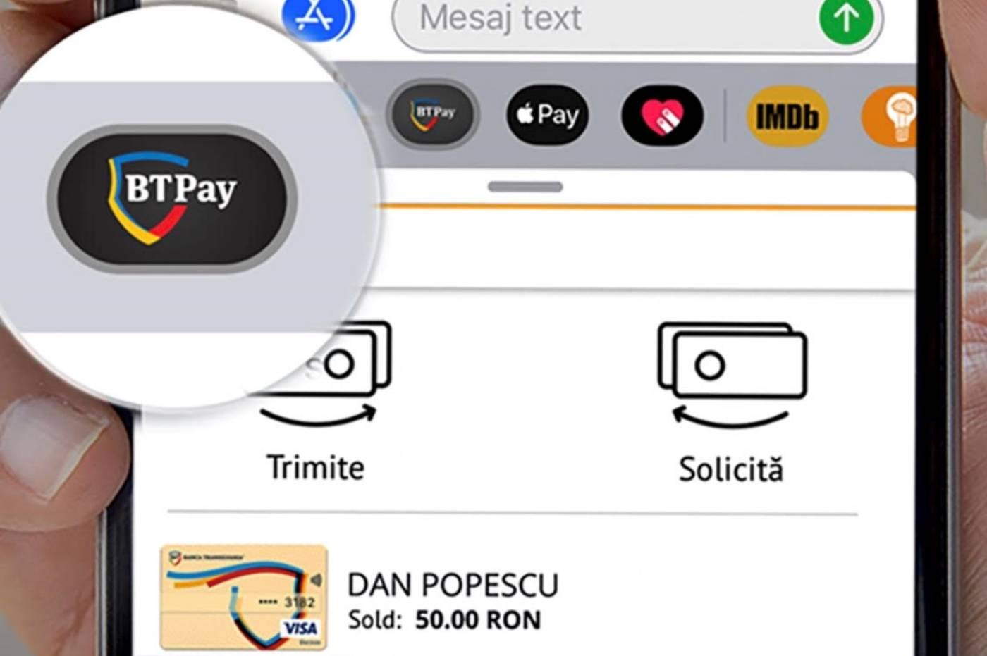 Banca Transilvania Apple Pay Cash Romania