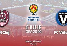 CFR CLUJ - VIITORUL SUPERCUPA ROMANIEI LIVE DIGISPORT