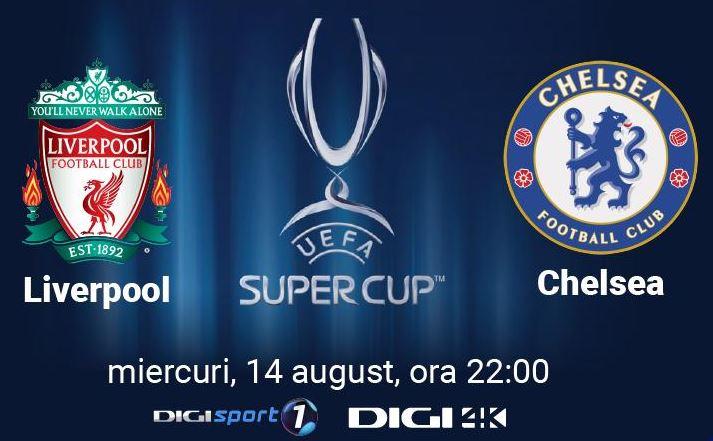 DIGI 4K supercupa europei rcs & rds