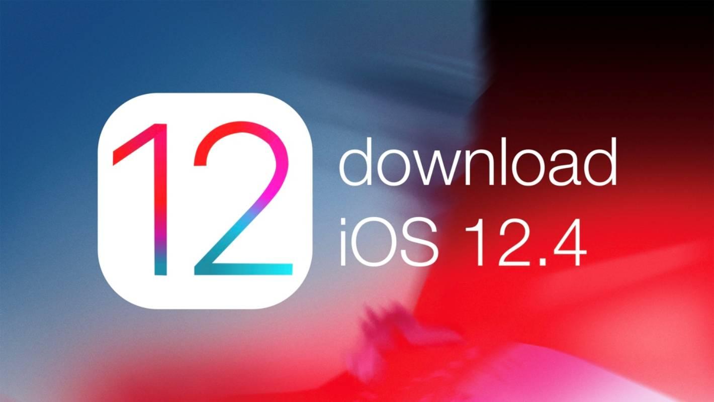 Descarca iOS 12.4 iPhone, iPad, iPod Touch