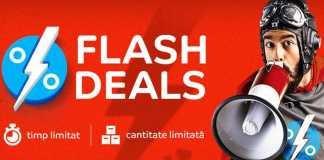 Flash Deals eMAG Oferte EXCLUSIVE