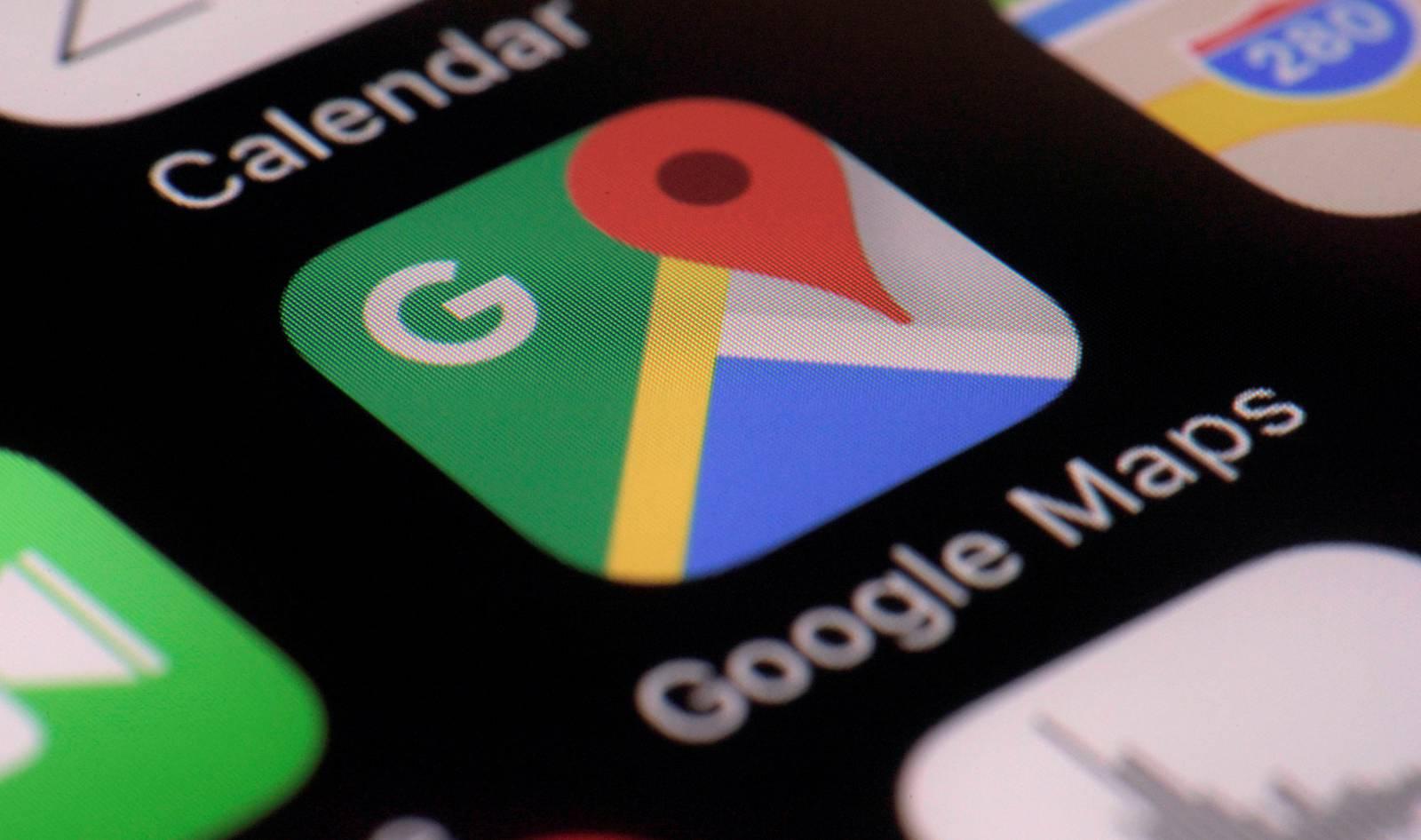 Google Maps toalete