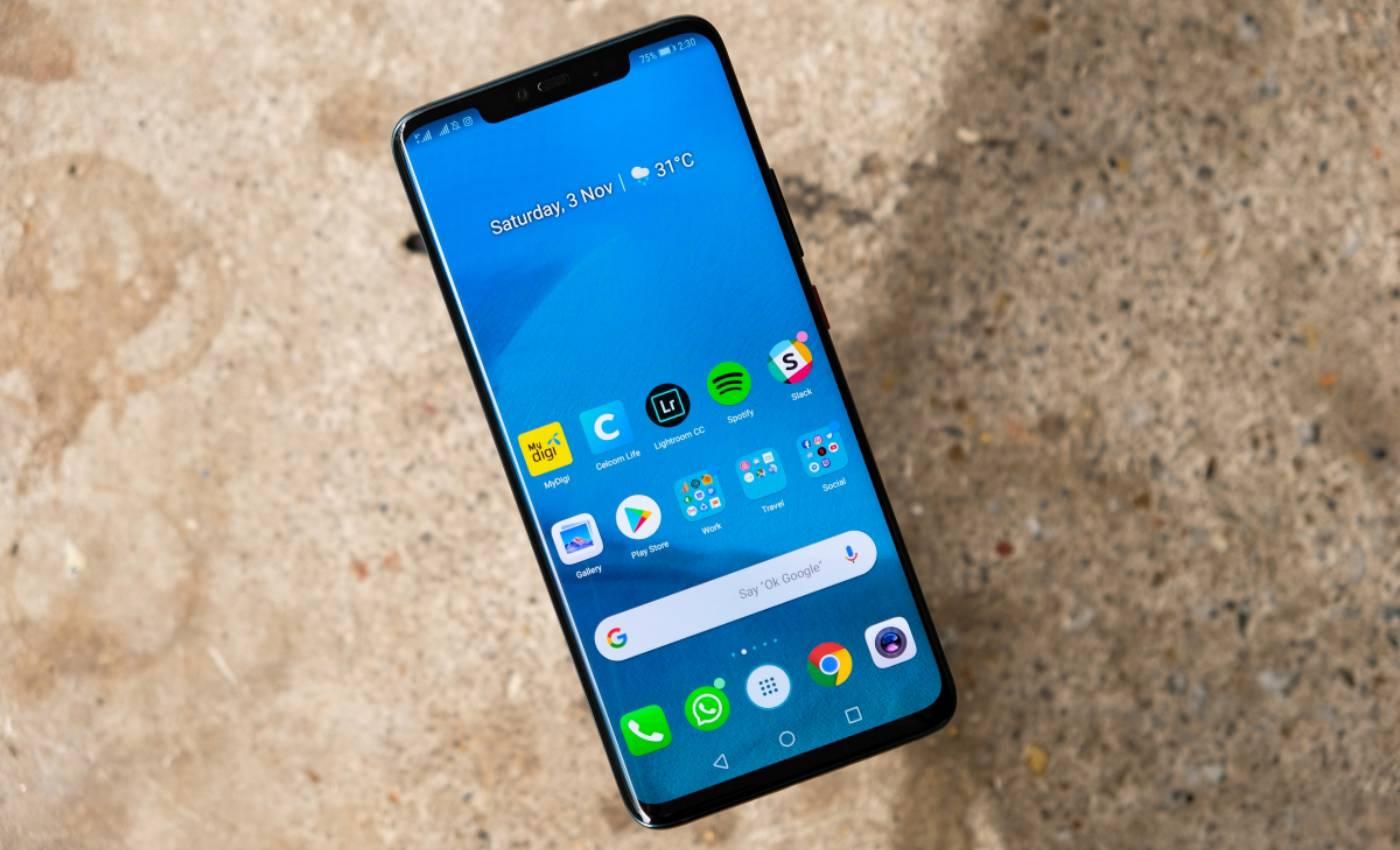 Huawei MATE 30 PRO Panoul Frontal apare in PRIMA IMAGINE